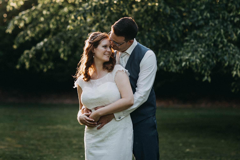 De Baenwinning bruidsreportage in tuin