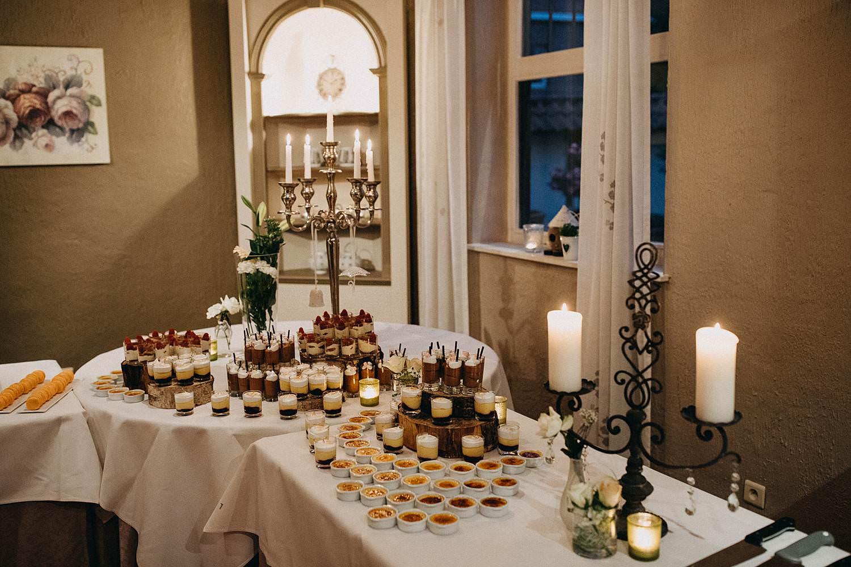 De Baenwinning dessertbuffet