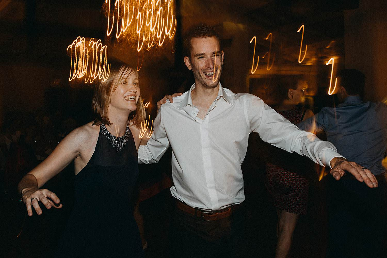 De Baenwinning huwelijk dansfeest