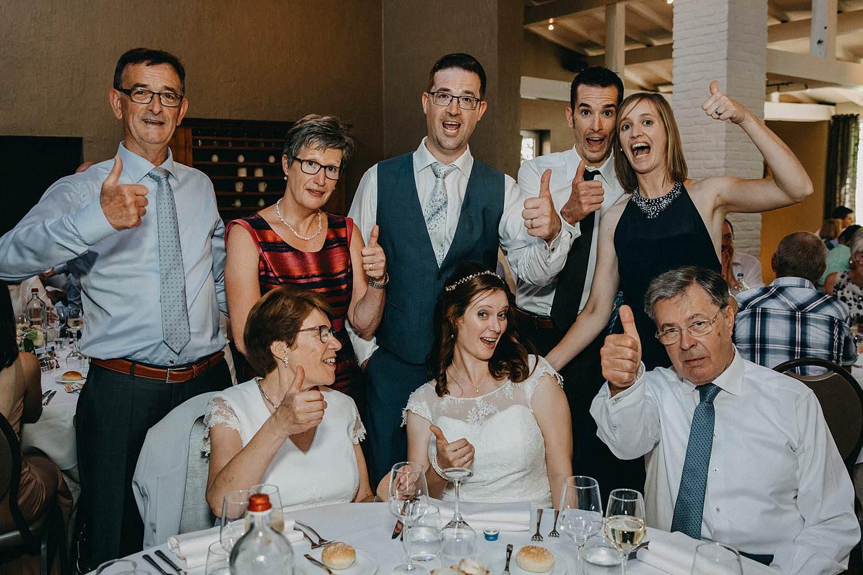 De Baenwinning huwelijk eretafel