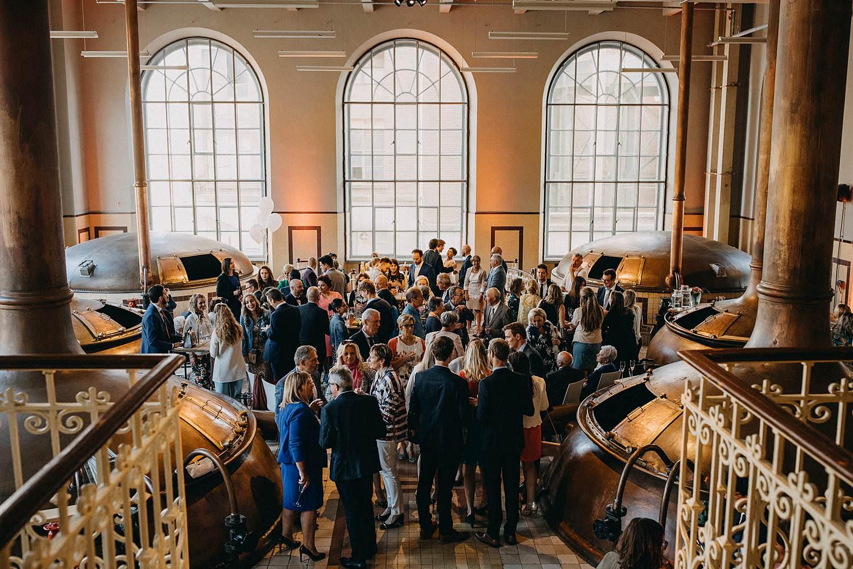 De Hoorn feestzaal huwelijk binnenreceptie
