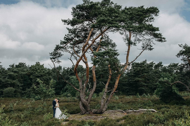 De Teut bruidspaar huwelijksreportage