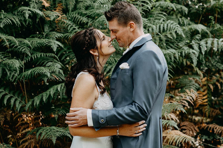 De Teut huwelijk trouwreportage bruidspaar