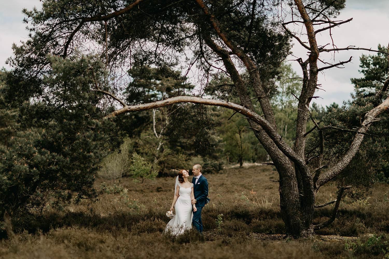 De Teut zonhoven trouwfoto's koppel