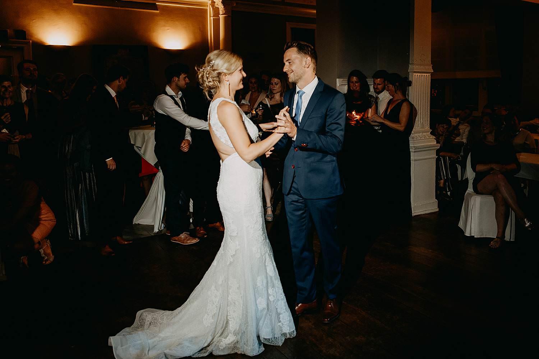 De Venkel openingsdans huwelijk