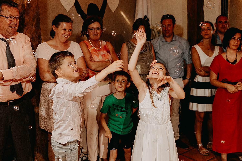 De Vrije Valk huwelijk openingsdans bruidskindjes spelen