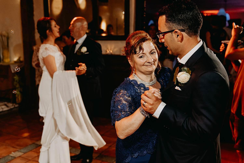 De Vrije Valk huwelijk ouderdans