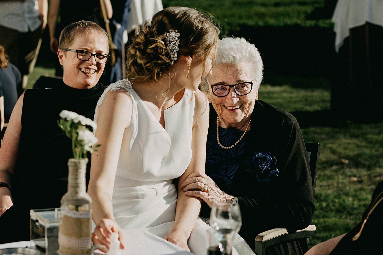 De Waterhoek bruid met oma