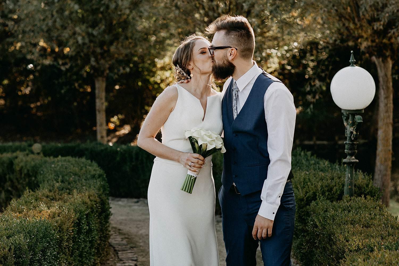 De Waterhoek huwelijk trouwfoto's
