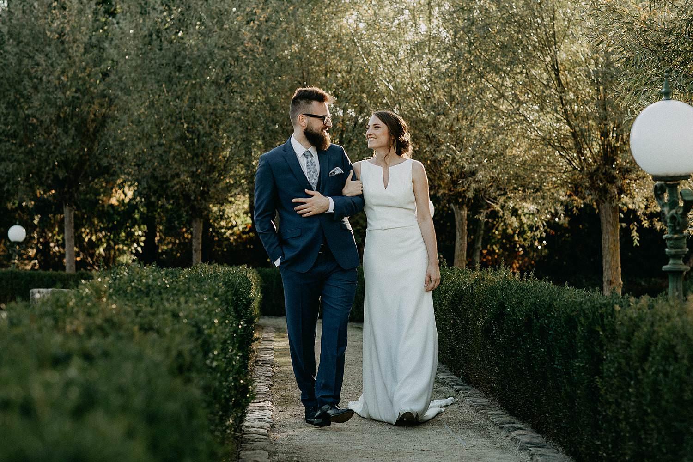 De Waterhoek huwelijksreportage in tuin