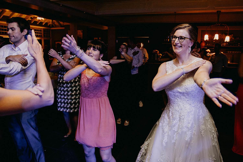 Den Hof huwelijk avondfeest