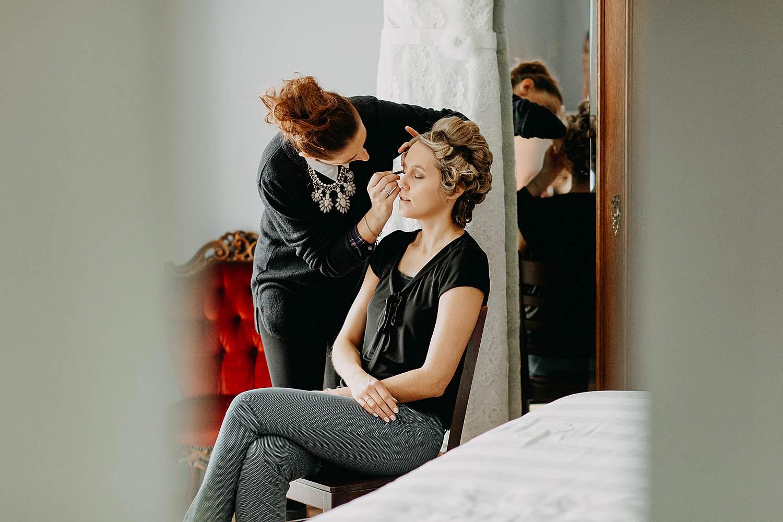 Droomzoet B&B make-up bruid