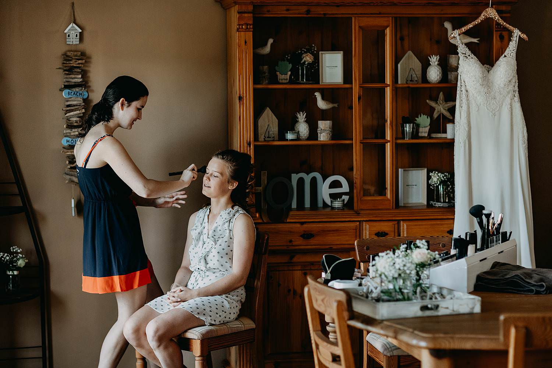 Ellen Vaernewyck make-up aan huis