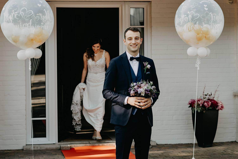 First look huwelijk Brecht Bethaniënlei