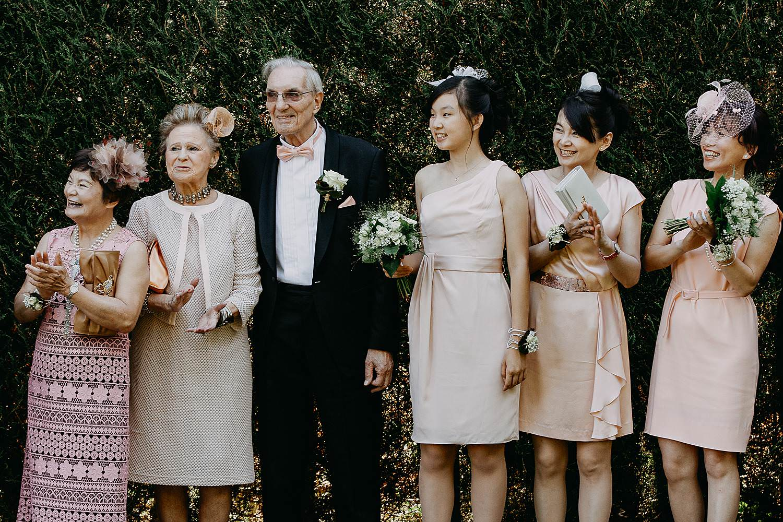 First look huwelijk Chinese bruid
