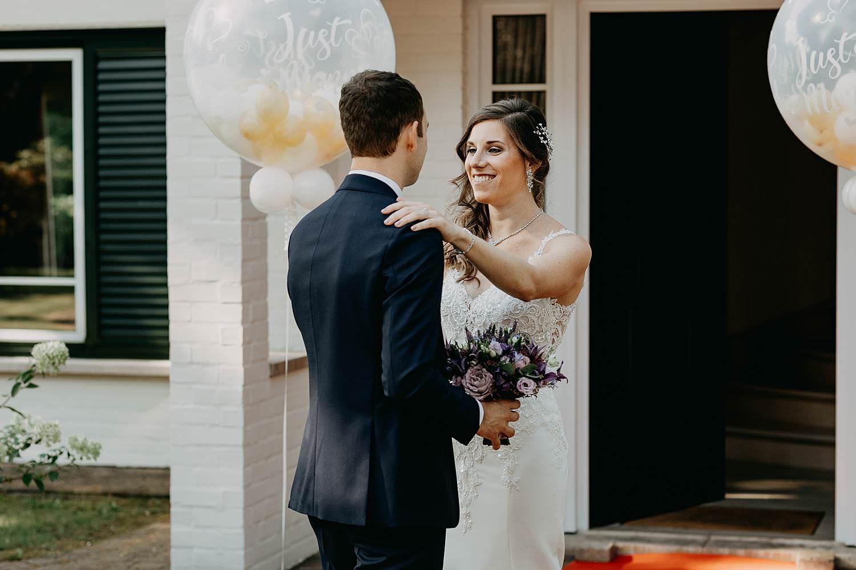 First look huwelijk voordeur