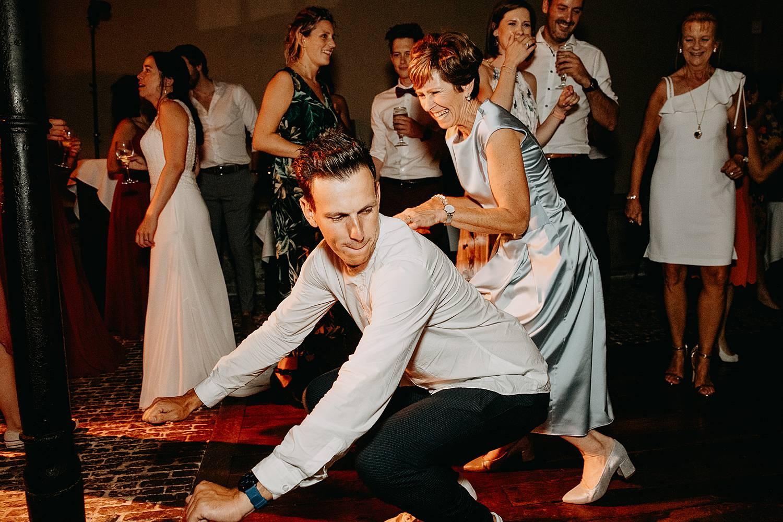 Hof Ten Steen sfeer huwelijksfeest dansvloer
