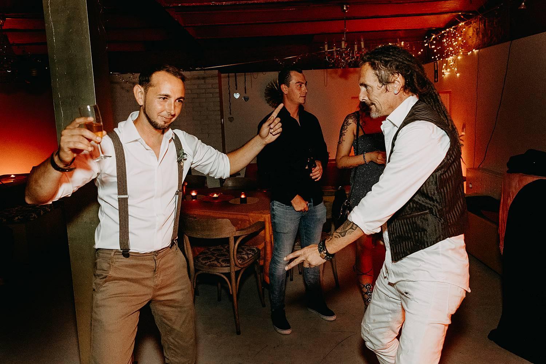 gasten dansen huwelijk Herent feestzaal