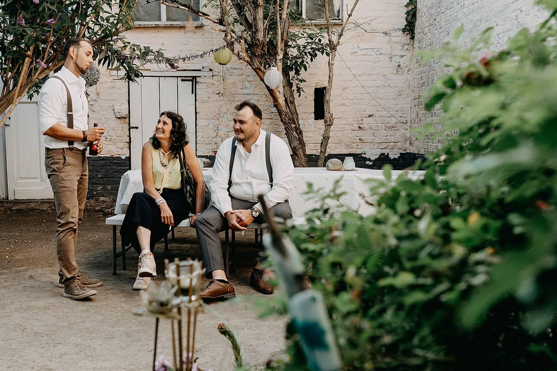 gasten terras huis van Mihr huwelijk