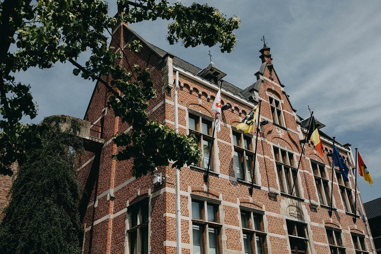Gemeentehuis Diepenbeek voorgevel