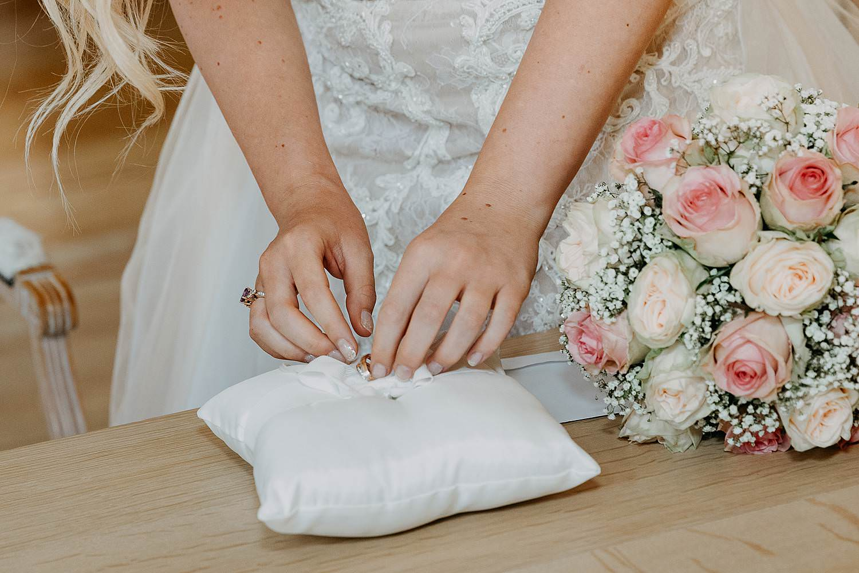 Gemeentehuis Waasmunster huwelijksringen
