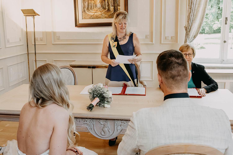 Gemeentehuis Waasmunster trouwzaal