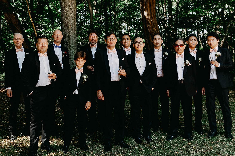 Groepsfoto heren kerk