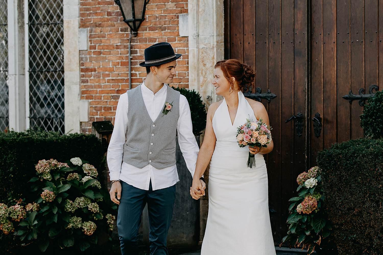 Heerlijckyt van Elsmeren bruid en zoon