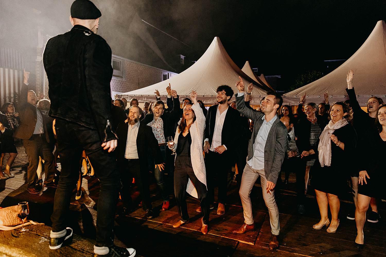 Heerlijckyt van Elsmeren huwelijk live optreden