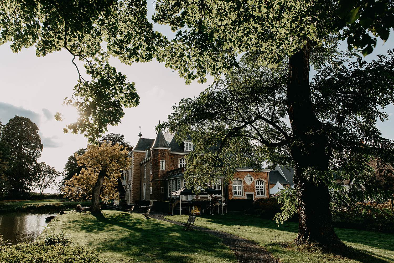 Heerlijckyt van Elsmeren kasteel in park