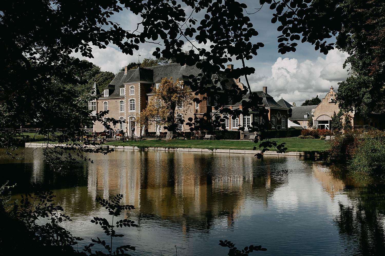 Heerlijckyt van Elsmeren kasteel met vijver