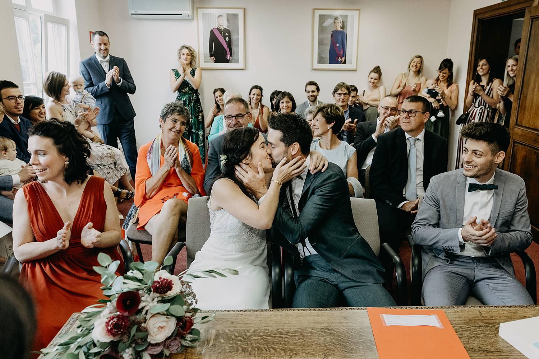 Herk De Stad gemeentehuis bruidspaar