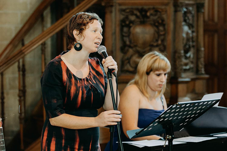Herzele huwelijk live zang