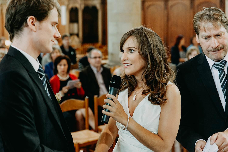 Herzele kerk bruidspaar geeft ja-woord