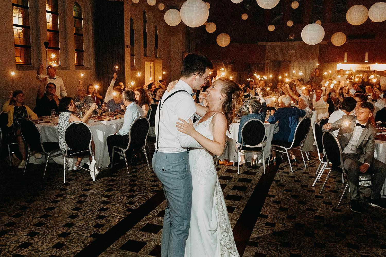 Het Sacrament openingsdans huwelijk