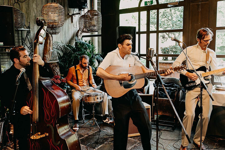 Hof Ten Damme live band in feestzaal