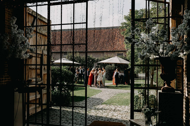 Hof Ten Steen binnenplein huwelijk