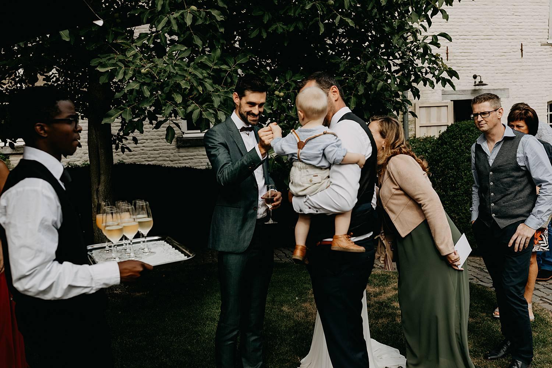 Hof Ten Steen huwelijksreceptie binnenplein