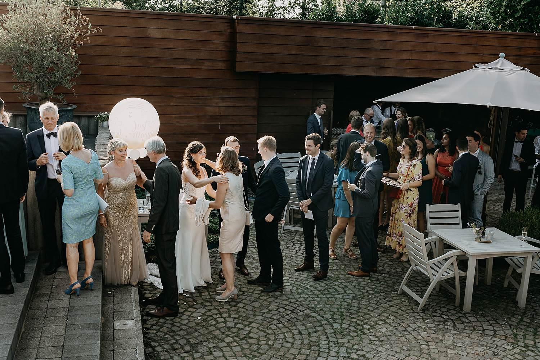 Hof Ter Delft receptie huwelijk tuin