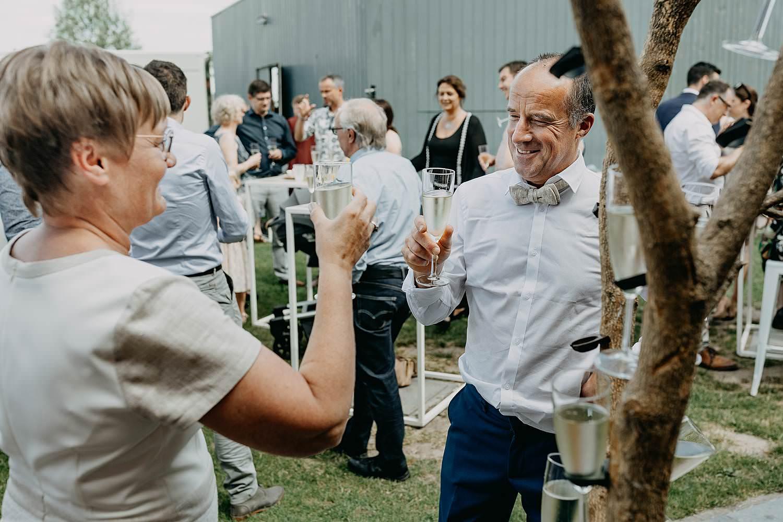 Huwelijksceremonie Rumbeke gasten