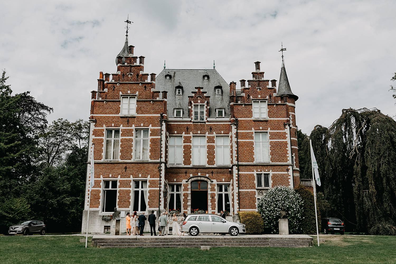 Kasteel Blauwendael bruidswagen