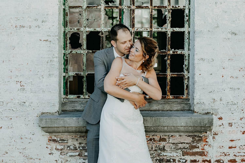 huwelijksreportage bruidspaar
