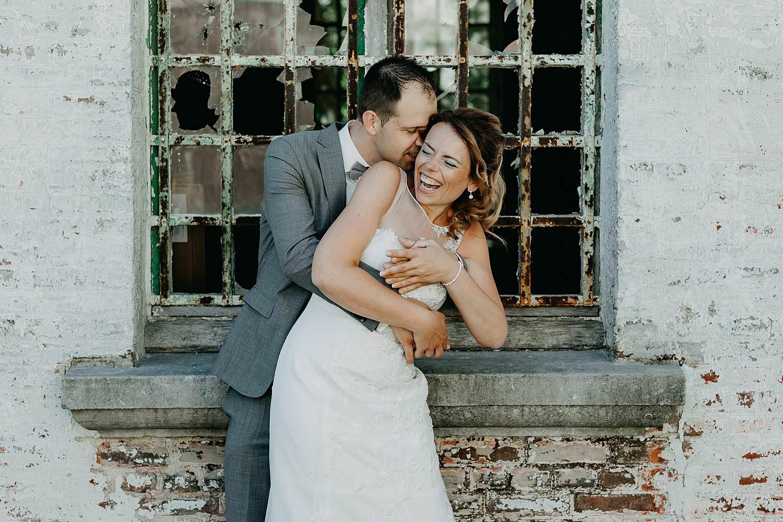 Kasteel d'Aspremont-Lynden huwelijksreportage