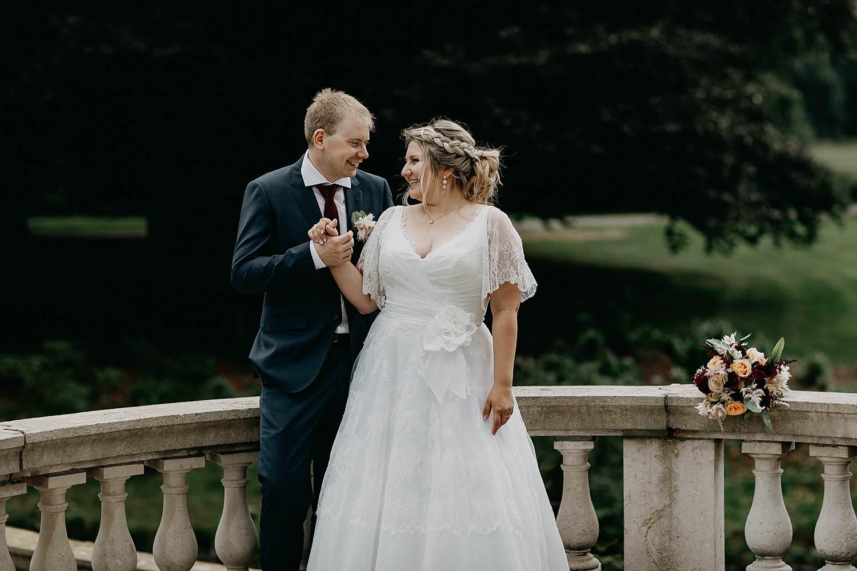 Kasteel Den Brandt bruidspaar