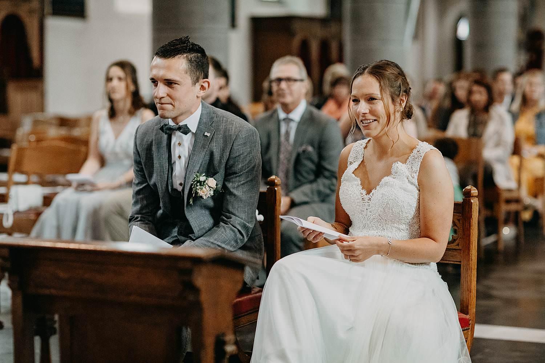 Kerk Liedekerke bruidspaar