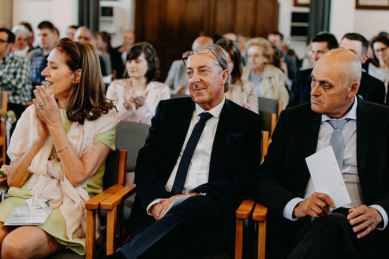 Kerk Millegem huwelijk familie in kerk