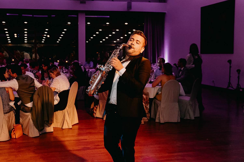 Marco Sax Live muziek huwelijk saxofoon