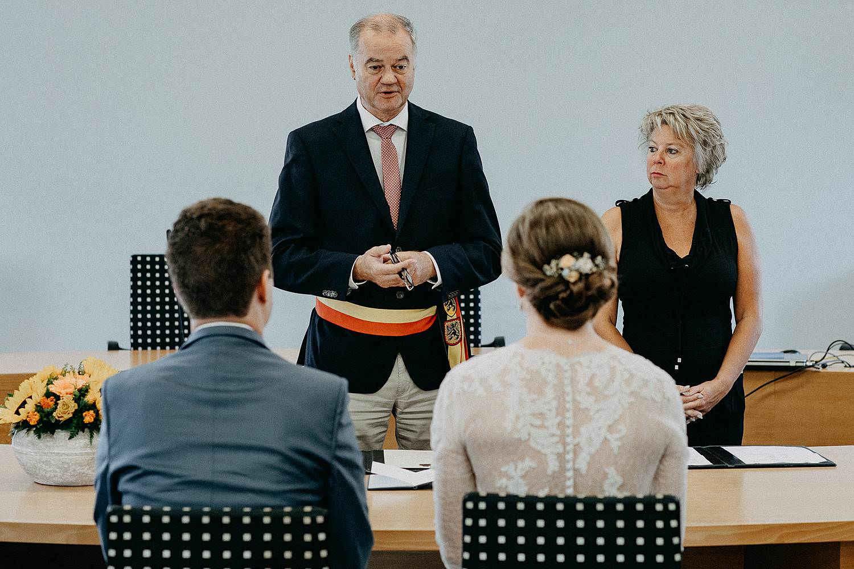 Merelbeke gemeentehuis huwelijk trouwzaal