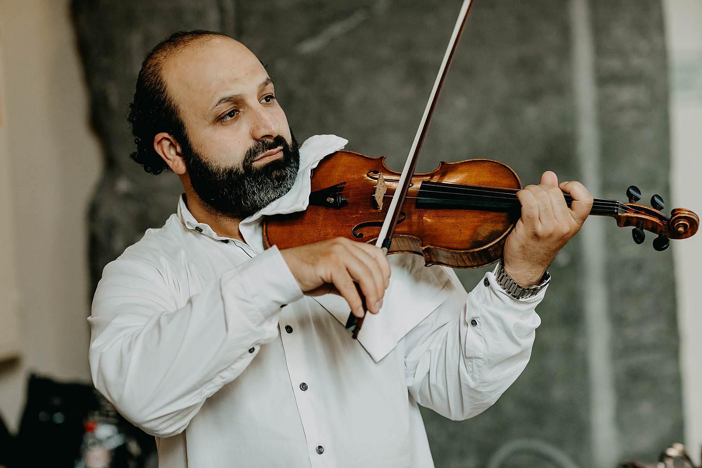 Museum kerk oud-Rekem live violist
