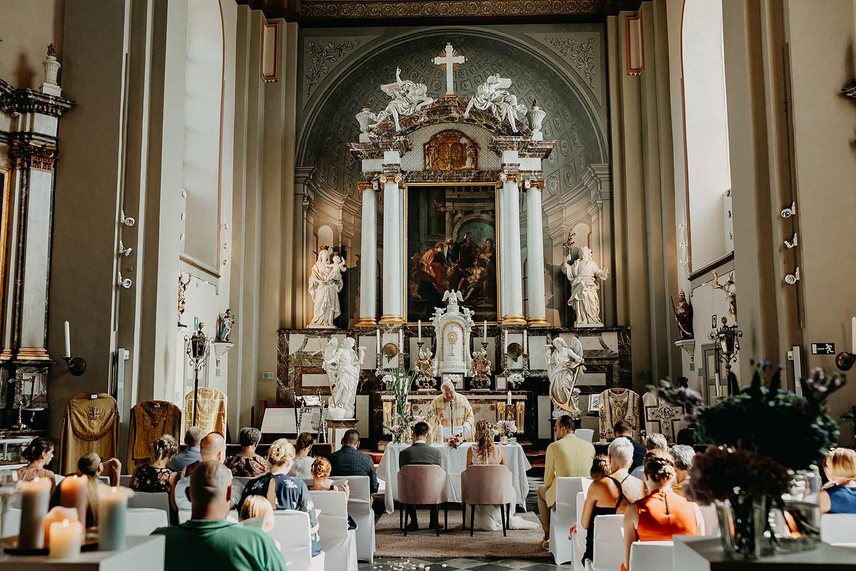 Museumkerk oud-Rekem huwelijk